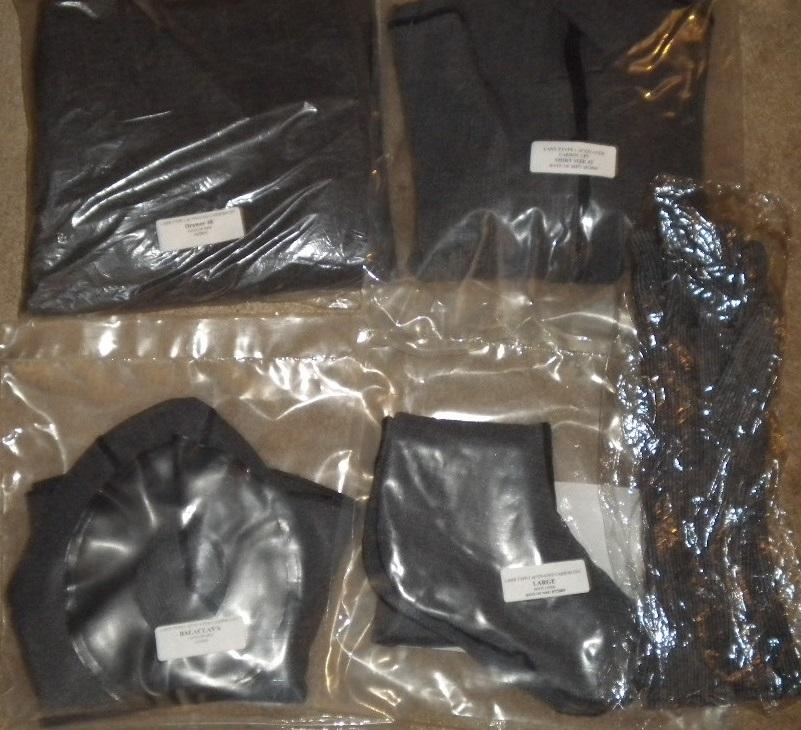 LANX CPU Chemical Protective Undergarment NBC Suit Set