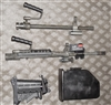 FN M249 SAW Squad Automatic Weapon Barrels, Buttstock and Laser
