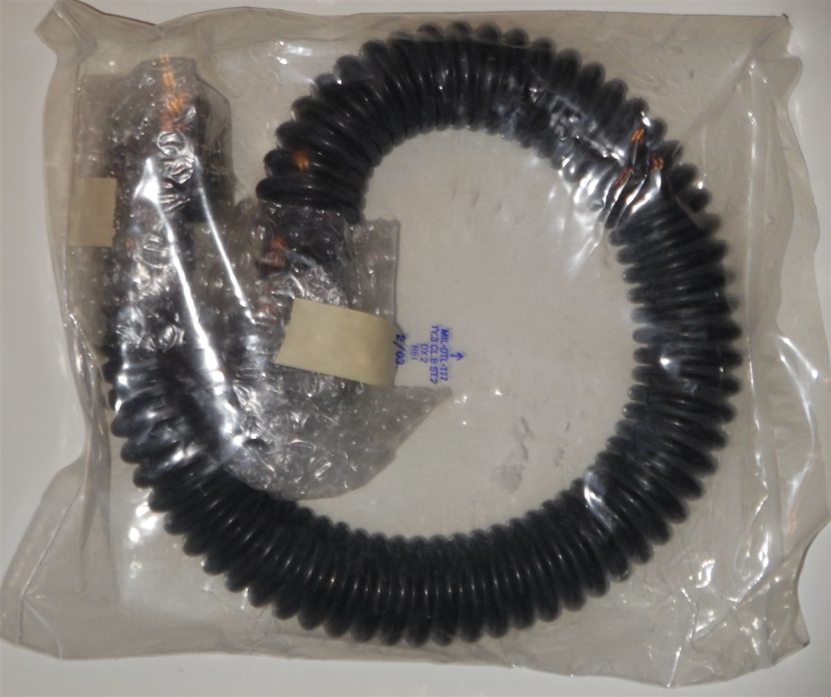 New Old Stock Close Quarter Combat 40MM New in Plastic Gas Mask Filter Hose