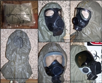 Universal Gas Mask Chemical hood Quick Doff