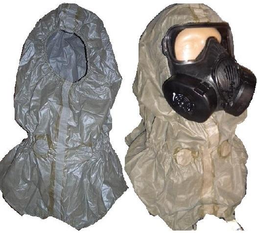 Universal QD Quick Doff Hood NBC CBRN Protective Hood