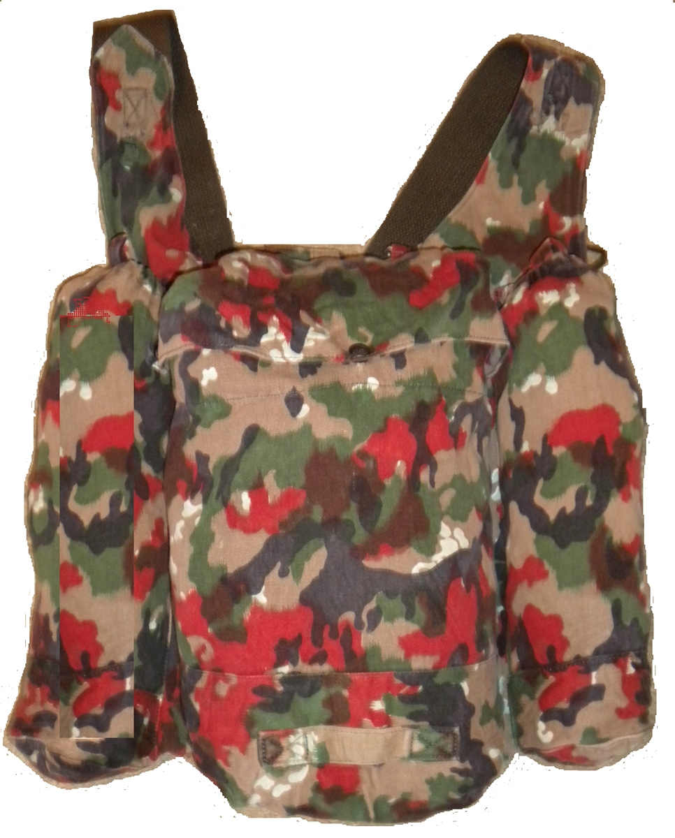 Swiss Military Alpine Camo M70 Rucksack With Shoulder Straps