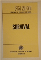 Field Manual, Survival FM-21-76
