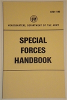 U.S. SPECIAL FORCES HANDBOOK ST31-180