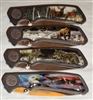 Wildlife folding knife set