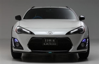 LX-Mode Toyota 86 Front Lip Spoiler (Carbon)