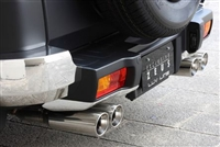 M'z SPEED Exhaust System FJ Cruiser
