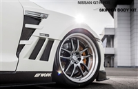 SKIPPER GT-R Carbon Front Wide Fenders