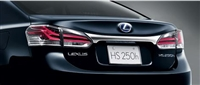 Lexus HS Plated Rear Garnish
