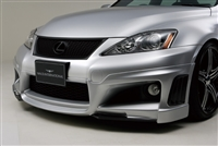 WALD IS F Black Bison Carbon Front Half Spoiler