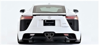 Artisan Spirits LFA Rear Under Spoiler (FRP)