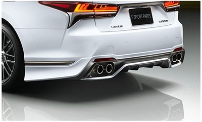TRD LS 500 F Sport Rear Exhaust