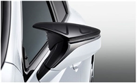 TRD LS 500 F Sport Aerodynamic Mirror Cover Set