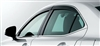 Lexus IS Side Window Visor Set