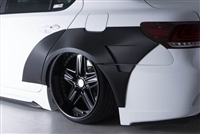 Lexus LS460/600h F-Sport AIMGAIN Rear Over Fender Kit (Carbon)