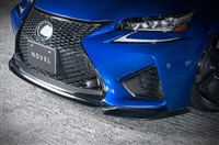 NOVEL Lexus GSF Front Lip Spoiler Carbon Fiber