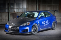NOVEL Lexus ISF Front Lip Spoiler Carbon Fiber