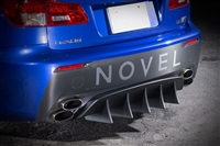 NOVEL Lexus ISF Rear Diffuser Carbon Fiber