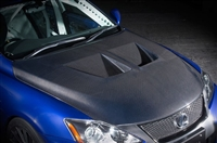 NOVEL Lexus ISF Bonnet Hood Carbon Fiber