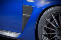 NOVEL Lexus ISF Duct Panel Carbon Fiber