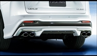 Modellista NX F Sport Rear Diffuser and tail pipe finisher