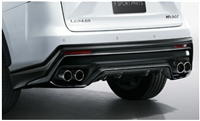 TRD RX F Sport Rear Exhaust