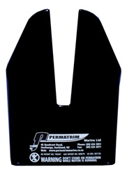 M5 BLACK PERMATRIM FOR TOHATSU 2-STROKE 4-STROKE  MOTORS 40HP AND UP TO 1990 ENGINE MODEL YEAR