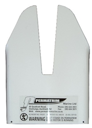 M5 WHITE PERMATRIM FOR JOHNSON/EVINRUDE 2-STROKE AND 4-STROKE MOTORS 8-40HP