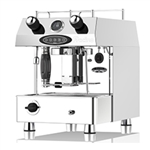 FRACINO CONTEMPO 1 GROUP FULLY AUTOMATIC DUEL FUEL ESPRESSO COFFEE MACHINE