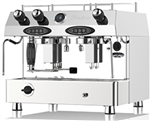 FRACINO CONTEMPO 2 GROUP FULLY AUTOMATIC DUEL FUEL ESPRESSO COFFEE MACHINE