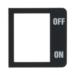 MARZOCCO - GROUP ON/OFF ROCKER SWITCH PLAQUE