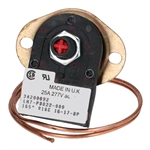 PROMAC - TWO-POLE THERMOSTAT 165°C