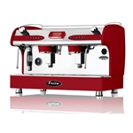 Fracino White 2 Grp fully automatic PID coffee machine.