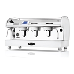 Fracino Stainless Steel 2 Grp fully automatic PID coffee machine.