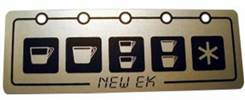 La SPAZIALE   NEW EK TOUCHPANEL STICKER   ORIGINAL    PN: SP3261