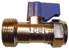 15MM X 3/4 VALVE WITH SCV AND LEVER