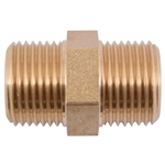 EQUAL STRAIGHT   3/8M X 3/8M BRASS FITTING