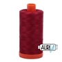 50wt Aurifil Cotton Thread Burgundy