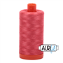 50wt Aurifil Cotton Thread MEDIUM RED