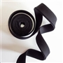 "Bias Tape Black Double Fold 1/2"" 5yards"