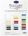 MicroQuilter Color Card MicroQuilter 100wt Poly Thread