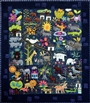 Folk-Tails  Wool Applique Quilt - Embroidery Book Sue Spargo