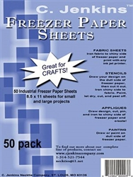 Freezer Paper Sheets for Quilters