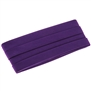 "Bias Tape Purple Double Fold 1/2"" 3yards"