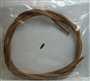 Treadle Leather Belt with Metal Hook
