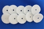 SEWING MACHINE WHITE SPOOL PIN FELT PADS