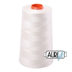 Aurifil Cotton Cones 50wt CHALK  6452 yds 2026
