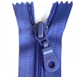 "14"" Zipper Closed Bottom Dusted peri Blue Among Brenda's 257"