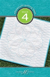 Wholecloth Quilting Ideas: Block 4 Every Angle - Every Oval