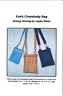 Cork Fabric Crossbody Bag Pattern ALSO Kraft Tex Fabric